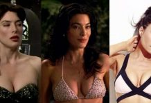 51 Sexy Jaime Murray Boobs Pictures That Will Fill Your Heart With Triumphant Satisfaction