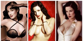 52 Dita Von Teese Nude Pictures Flaunt Her Well-Proportioned Body