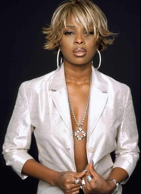 mary j. blige sexy pictures