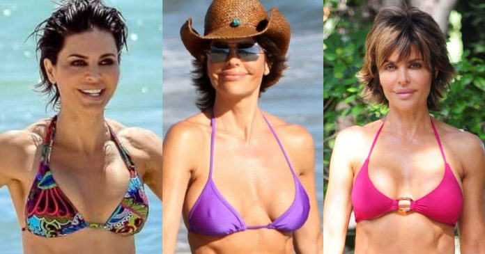 51 Sexy Lisa Rinna Boobs Pictures Which Are Inconceivably Beguiling