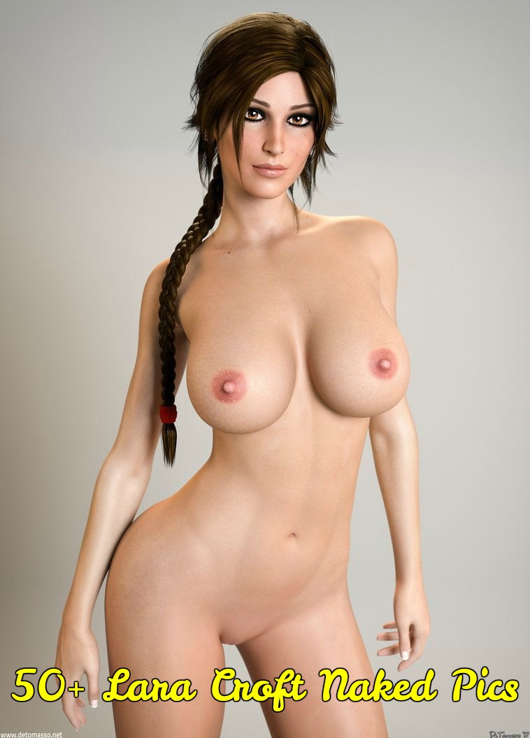 Lara Croft naked
