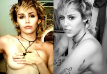 Miley Cyrus Poses Topless For Fappers