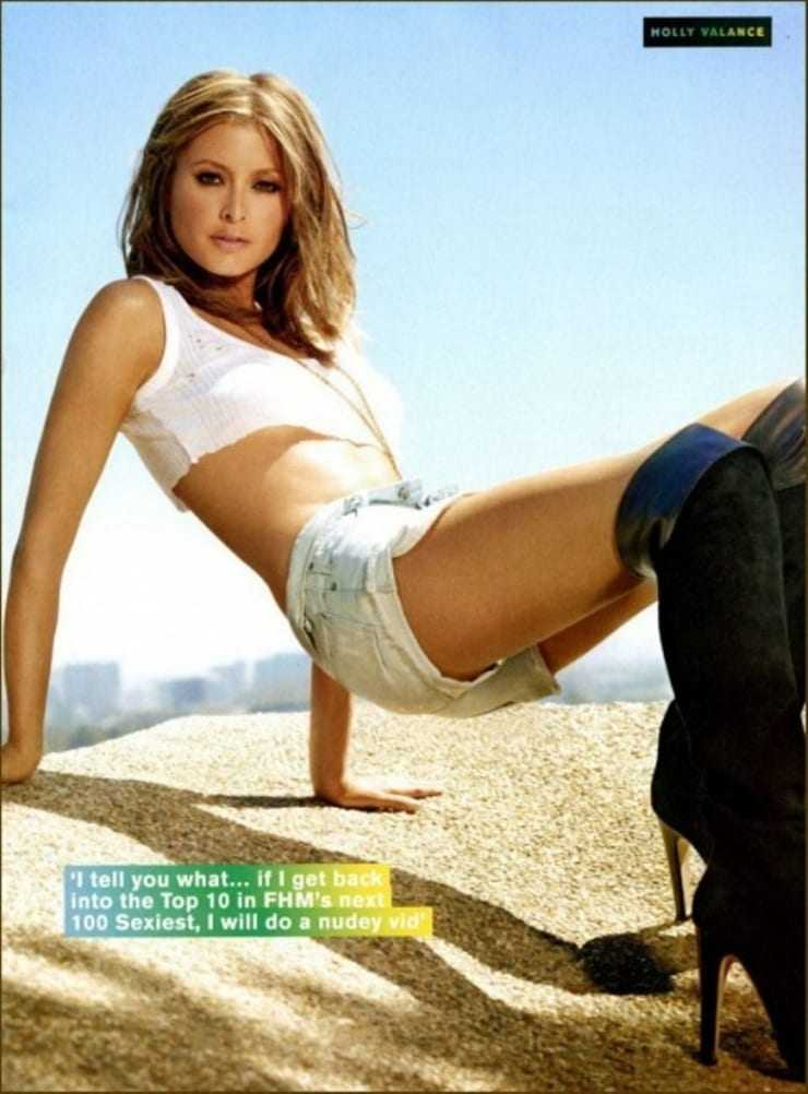 holly valance thighs