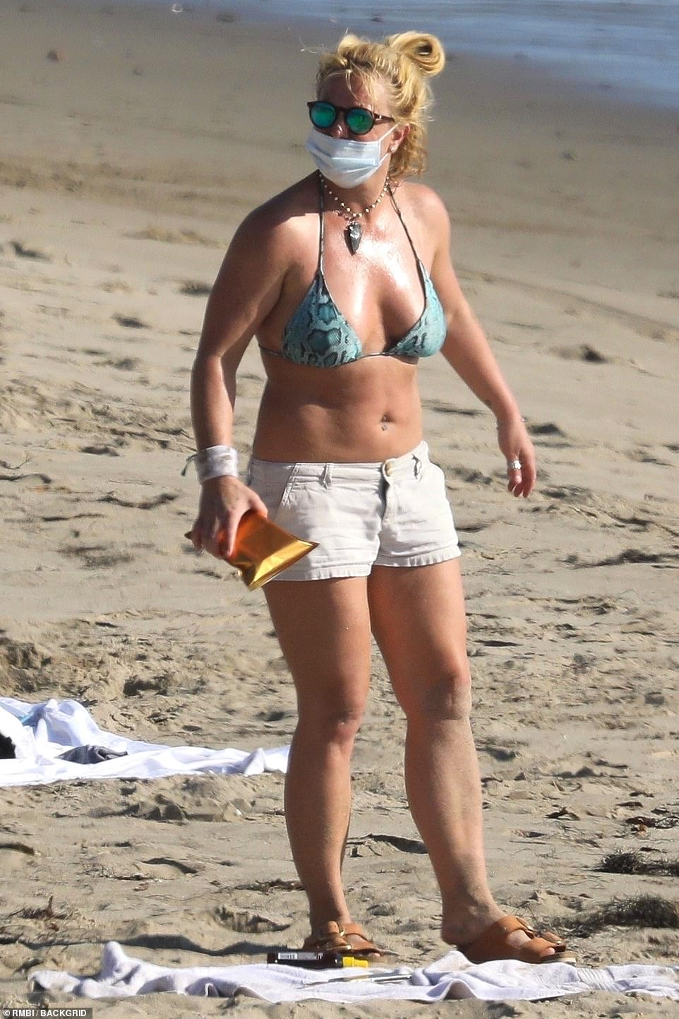 Britney Spears swimsuit displayed