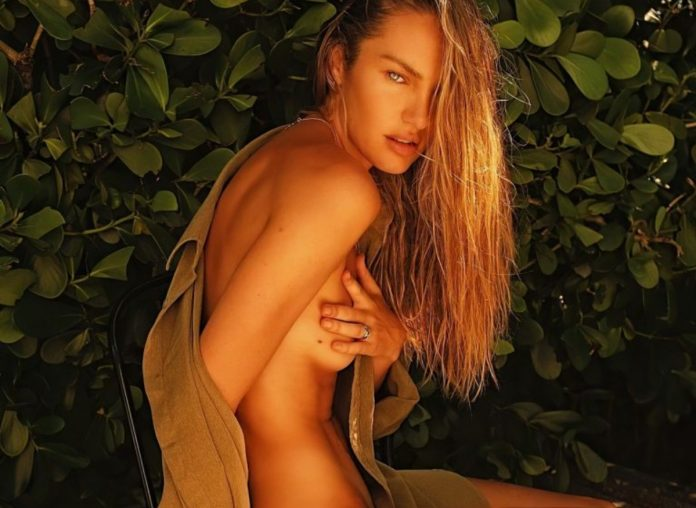 Candice Swanepoel Looks Sexy As She Promotes Her Brand Tropic of C