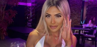 Chloe Ferry Looks Stunning In Tight White Top As She Enjoyed Clubbing
