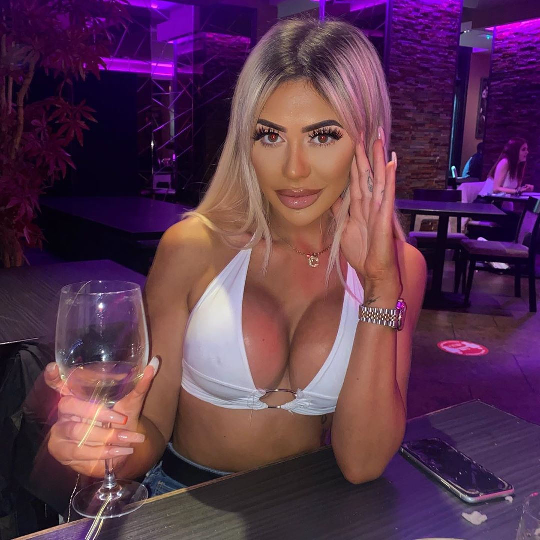 Chloe Ferry look featuring