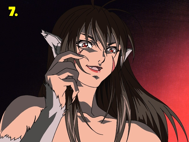 MegamiKyouju (The Legend of the Wolf Woman)
