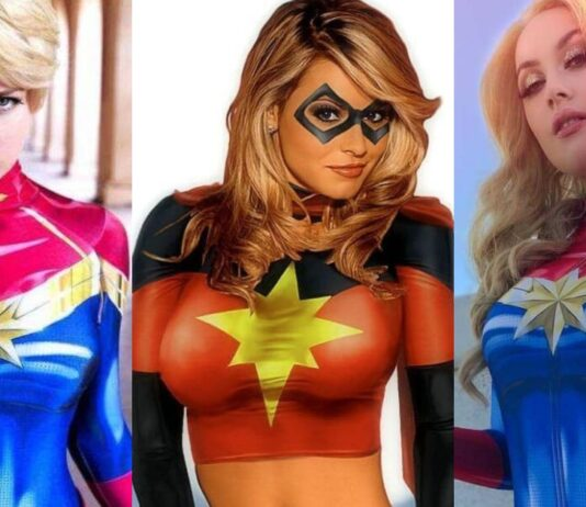 51 Sexy Captain Marvel Boobs Pictures Will Leave You Panting For Her Will Cause You To Ache For Her
